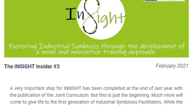 3ª Newsletter del proyecto Insight