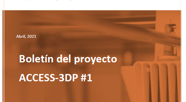 The 1st newsletter of the ACCESS-3DP project is now available.