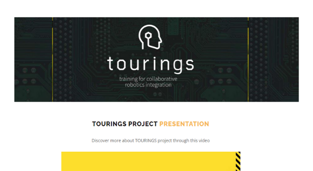1st Newsletter of the TOURINGS project
